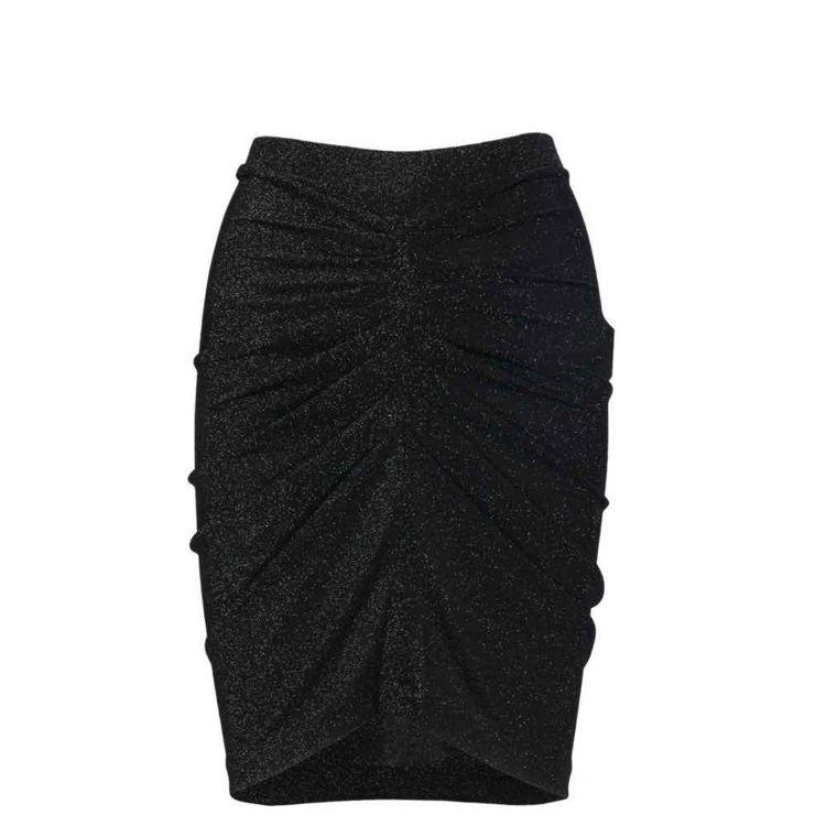 nederdel i glimmer