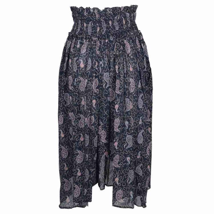 lang nederdel print